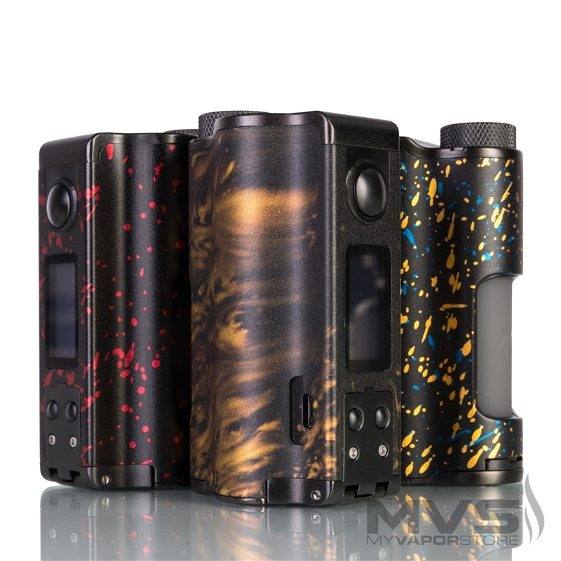 Dovpo Topside Dual Squonk Mod - Designed in Collaboration with The Vapor Chronicles