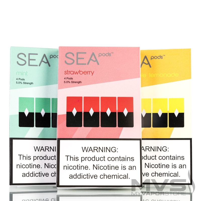 SEA Flavor Pods - Pack of 4